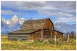 Moulton Barn, Grand Teton National Park (HDR)