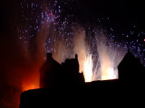 September 4th Fireworks - Edinburgh Castle