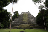 Yaxha, Temple 216, restored; we climbed to the top. 2845