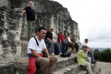 our group,  top of Temple 216 2851