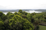 from the top of 216; Lake Yaxha  2853