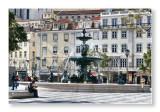Fountain at Rossio
