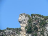 ROCK LION HEAD
