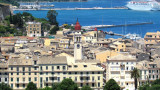The Old town of Corfu (view from Old Venetian Fortress)