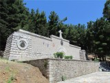 The island Vido - Serbian WWI soldiers mausoleum