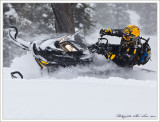 Carl Kuster on  Ski-Doo Summit X 800 163