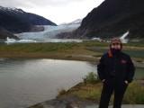 Betsy at Mendenhall Glacier