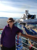 Betsy at sea (iPhone)