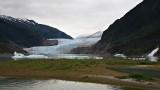 Mendenhall glacier & waterfall