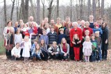 Leeba's family Christmas pic, Dec. 2011