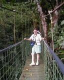 Patti on skywalk bridge
