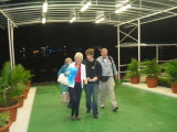 Twila, Patti, Russ and Ed arriving at Papeete Airport