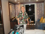 Gaylen when we first got to our stateroom