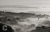 Bradninch Church in the mist