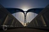 New cycle bridge at Exeter