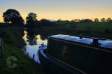 Tiverton Canal at night