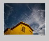 yellow cabine