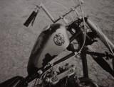 Breck Brubaker's Triumph chopper