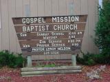 Gospel MissionBaptist ChurchPastor Nelson