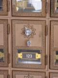 my PO box 123......