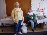 Linda and cashier