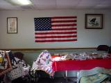 American flag  in Knapp Wisconsin