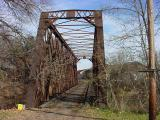 old railway railroad bridge