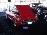 1954 red Corvette