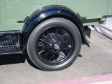 1929 Ford Postal wheel