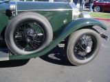 1926 Rolls-Royce wheels