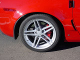 red Z O6 wheel