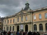 Borshuset (Stock Exchange Building) which houses  the Swedish Academy, Nobel Museum and Nobel Library