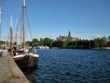 View from Strandvagen