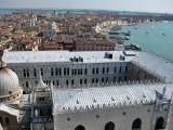Venezia. Vista desde el Campanile en la Piazza San Marco