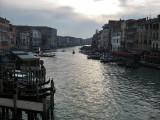 Venezia. Atardecer sobre el Canal Grande