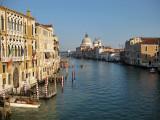 Venezia. Canal Grande. Vista desde el Ponte dell´Accademia