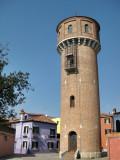 Isla de Burano. Torre del Agua