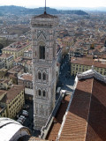Firenze. Vista desde la Cúpula del Duomo.View from the top of the Duomo´s Dome