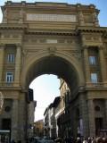 Firenze. Piazza della Republica