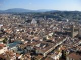 Firenze vista desde lo alto de la Cúpula del Duomo