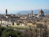Firenze. Vista desde la Piazzale Michelangelo