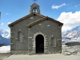 Little chapel in the Gornergrat at 3089 mts