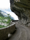 Kandersteg. Road to the Gasterntal Valley