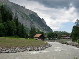 Kandersteg and the River Kander