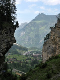 Kandersteg. Gorge formed by the River Kander