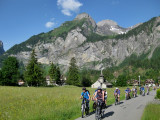 Kandersteg. A day out with the bikes