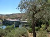 Puente sobre el Rio Duero en Barca De Alba