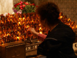 Candles at Saint Patrick's