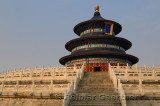 Steps to Hall of Prayer for Good Harvests at Temple of Heaven Park in Beijing China