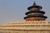 Three tiered marble base of Hall of Prayer for Good Harvests at Temple of Heaven Park in Beijing